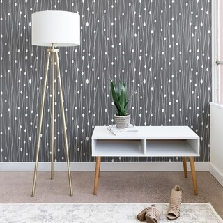 Heather Dutton Gray Entangled Wallpaper