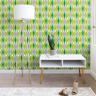 Heather Dutton Abacus Emerald Wallpaper