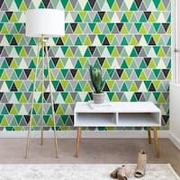 Heather Dutton Emerald Triangulum Wallpaper
