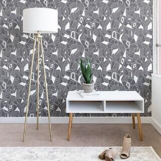 Heather Dutton Fragmented Grey Wallpaper