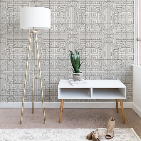 Holli Zollinger Line Mandala Wallpaper