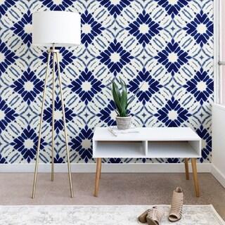 Jacqueline Maldonado Watercolor Shibori Blue Wallpaper