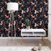 Holli Zollinger Anthology of Pattern Seville Garden Black Wallpaper