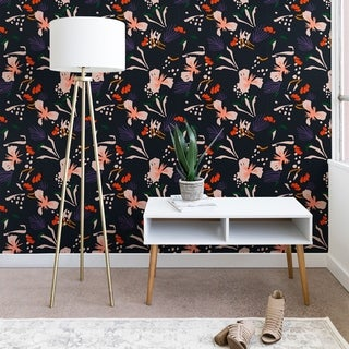 Holli Zollinger Anthology of Pattern Seville Garden Black Wallpaper