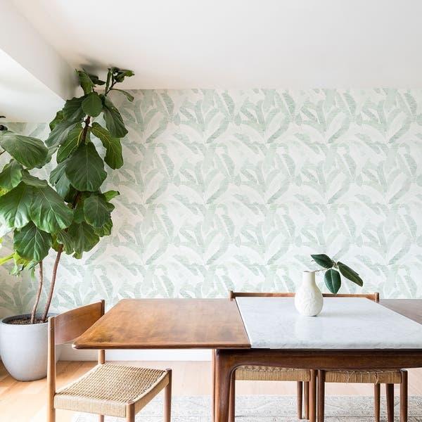 Shop Deny Designs Banana Leaf Peel And Stick Wallpaper 3