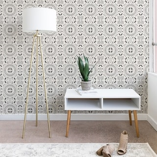 Holli Zollinger Mandala Tile Light Wallpaper