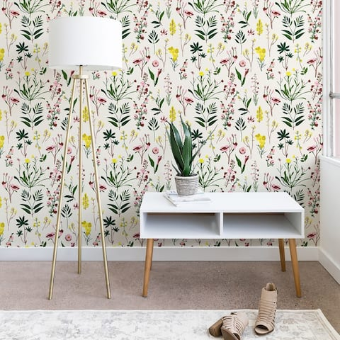 Holli Zollinger Wildflower Study Light Wallpaper