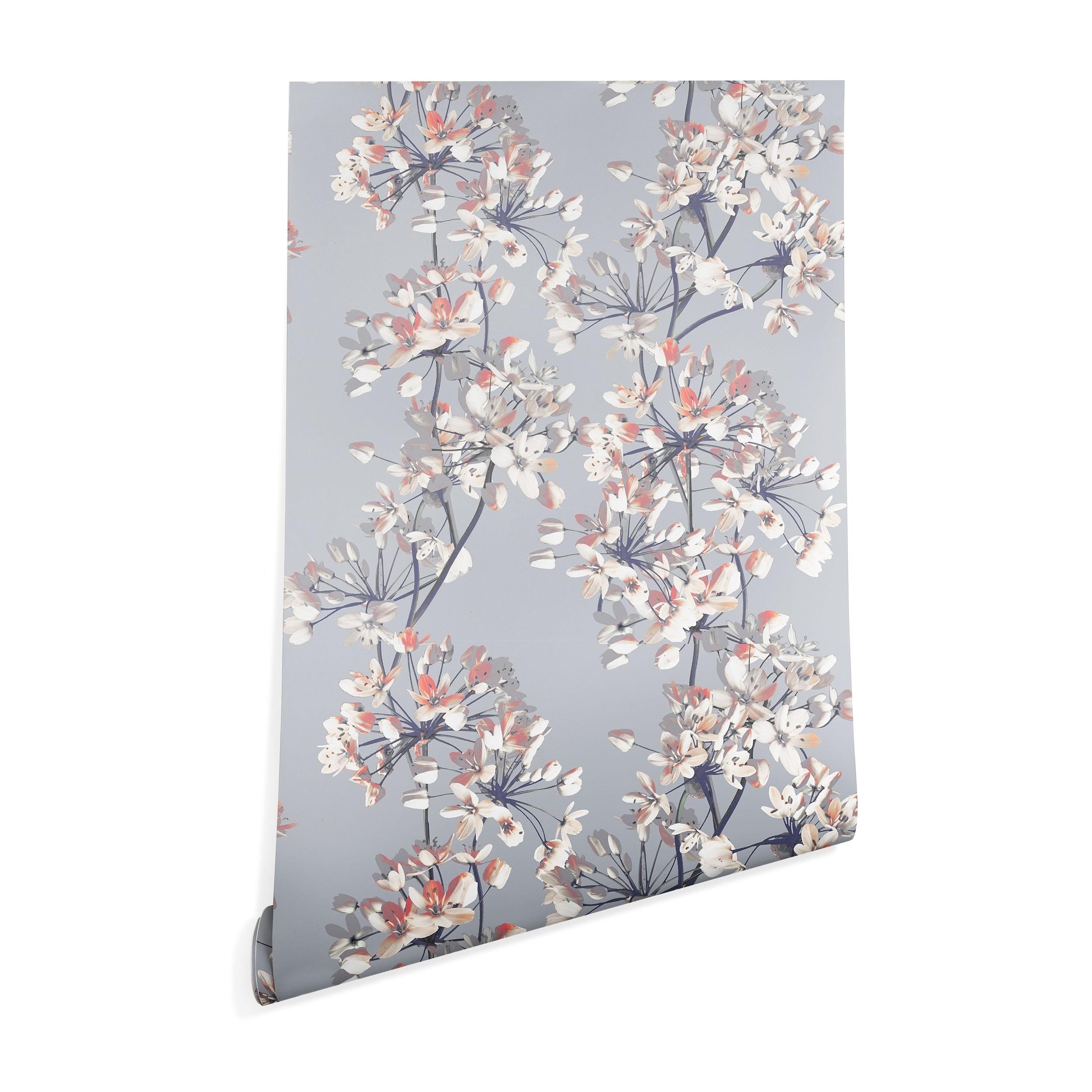 Shop Emanuela Carratoni Delicate Floral Pattern Wallpaper On