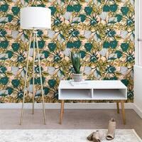 Marta Barragan Camarasa Tropical Autumnal Bloom Wallpaper
