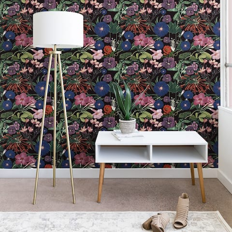 Deny Designs Florals Peel and Stick Wallpaper- 3 Sizes