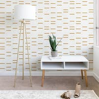 Holli Zollinger Ochre Line Wallpaper