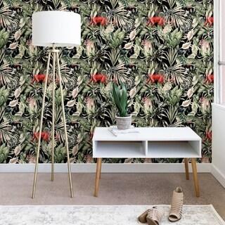 Marta Barragan Camarasa Animals in the dark of the jungle Wallpaper