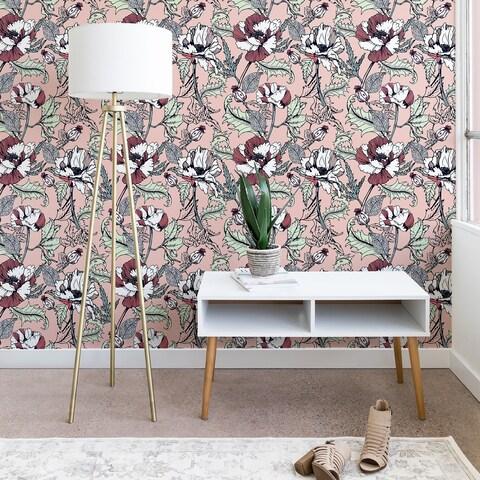 Marta Barragan Camarasa Autumnal Flowering of Poppies Wallpaper