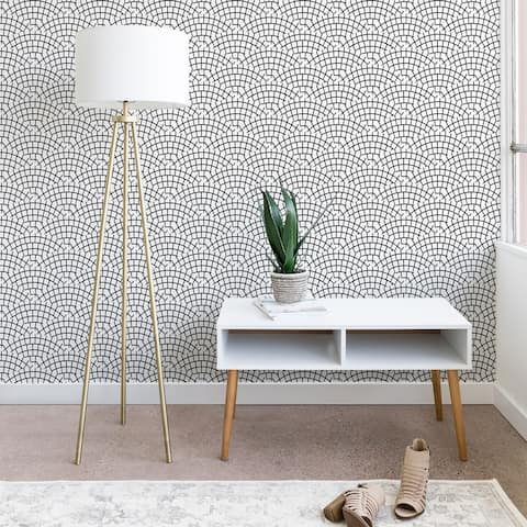 Holli Zollinger Mosaic Scallop Ligth Wallpaper