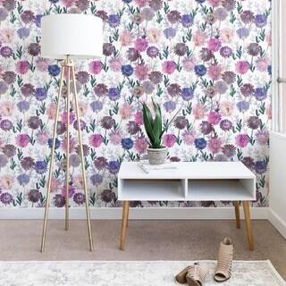 Schatzi Brown Gillian Floral White Wallpaper