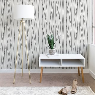 Link to Heather Dutton Linear Cross Stone Wallpaper Similar Items in Wall Coverings