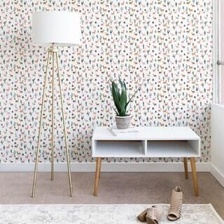 Dash and Ash Llamas and Plants Wallpaper