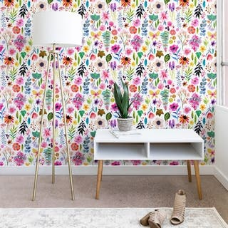 Buy Floral Peel And Stick Wallpaper Online At Overstock