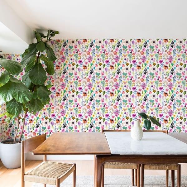Shop Stephanie Corfee Garden Baby Wallpaper On Sale Free
