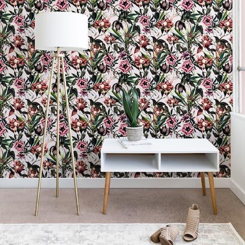 Marta Barragan Camarasa Blooms Garden Vintage Wallpaper