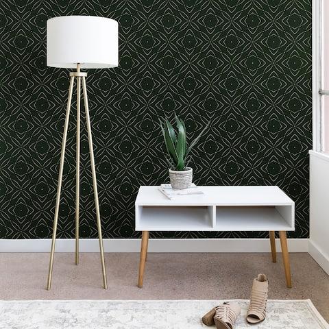 Marta Barragan Camarasa Vintage Emerald Pattern Wallpaper