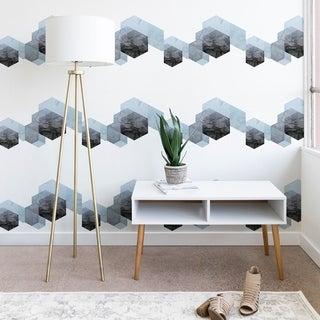 Emanuela Carratoni Neutral Marble Geometry Wallpaper