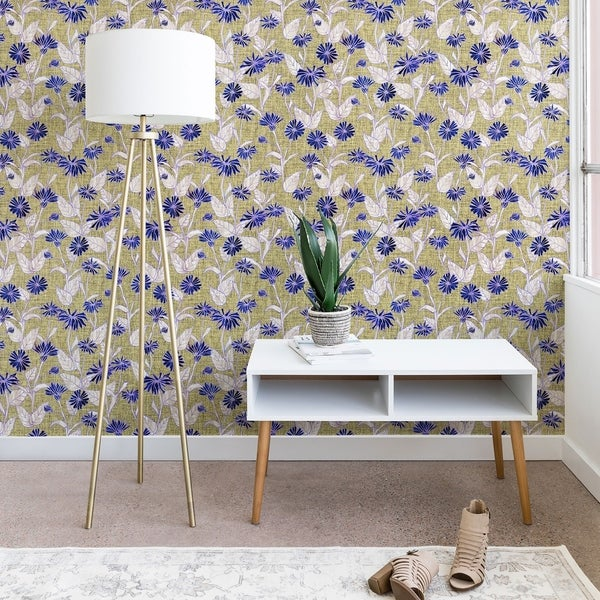Schatzi Brown Justina Floral Tan Wallpaper