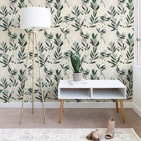 Holli Zollinger Olive Bloom Wallpaper