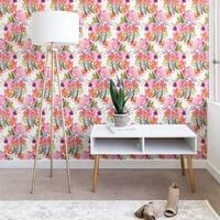 Ninola Design Flowers Sweet Bloom Pink Wallpaper