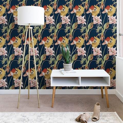 CayenaBlanca Orchid Dance Wallpaper