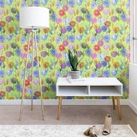 Schatzi Brown Gillian Floral Lime Wallpaper
