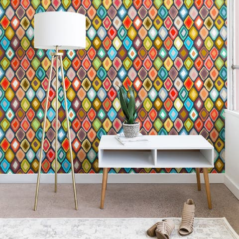 Sharon Turner Almas diamond ikat Wallpaper