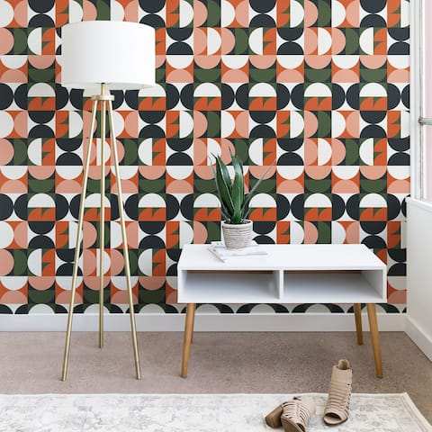 The Old Art Studio Mid Century Geometric 16 Wallpaper
