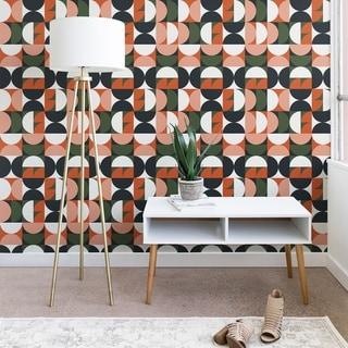 The Old Art Studio Mid Century Geometric 16 Wallpaper
