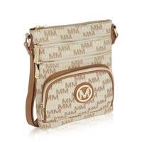 MKF Collection Iris M Signature Crossbody Bag by Mia K Farrow