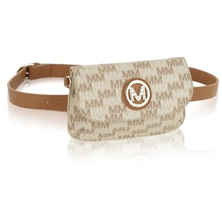 MKF Collection Lori Belt Bag with Wristlet Strap by Mia K Farrow
