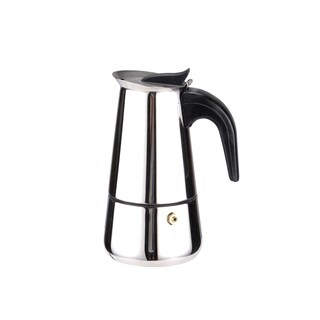 Home Basics Stainless Steel 2-cup Espresso Maker