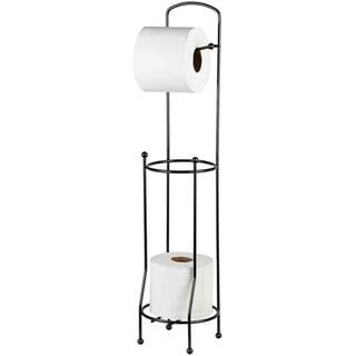 Home Basics Black Onyx Tissue Holder and Dispenser