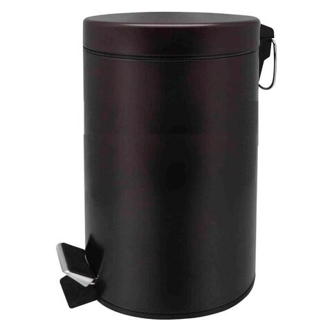 Home Basics Bronze 20 Liter Round Waste Bin