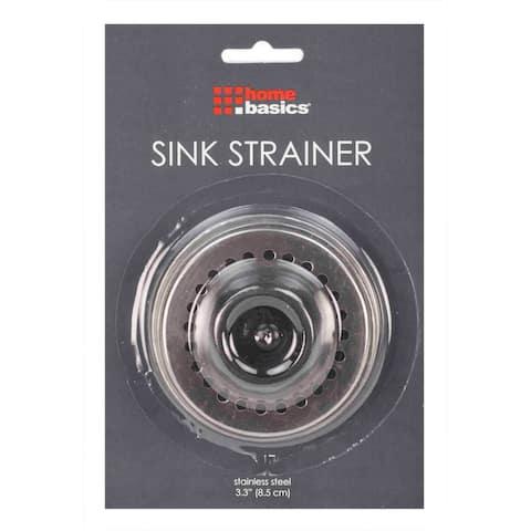 Home Basics Stainless Steel Sink Strainer