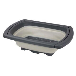 Home Basics Over The Sink Collapsible Colander