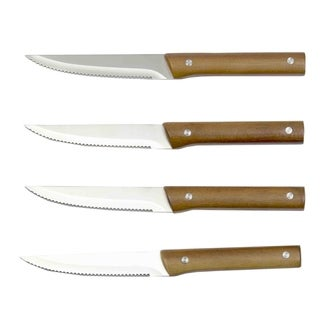 Home Basics Winchester Collection Brown 4-piece Knife Set