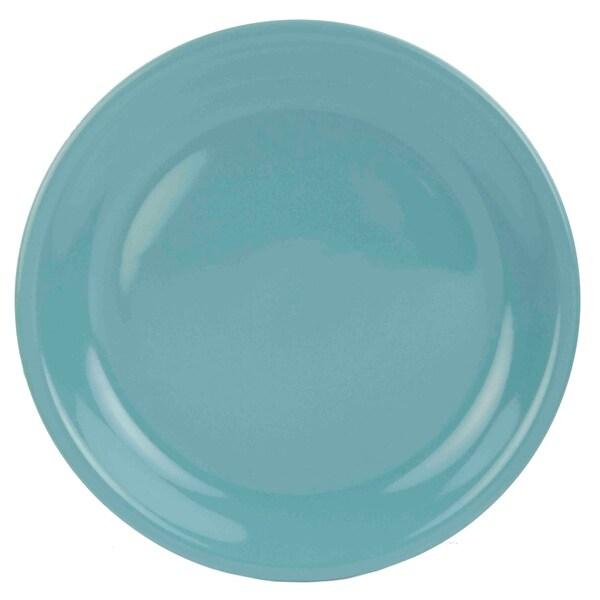 20 Best Minimalist Dining Room Design Ideas For Dinner: Shop Home Basics Turquoise Ceramic Dinner Plate