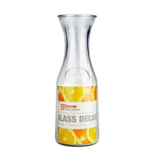 Home Basics Clear Glass Decanter