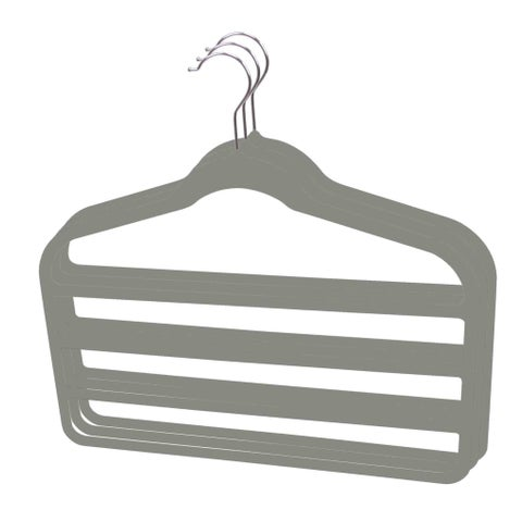 Sunbeam Velvet Trouser Hanger (Pack of 3)