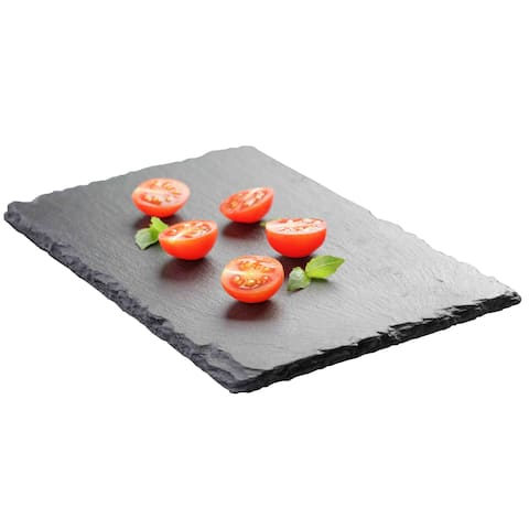 Home Basics Black Slate Cutting Board