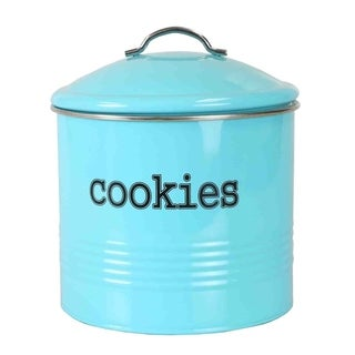 Home Basics Tin Cookie Jar