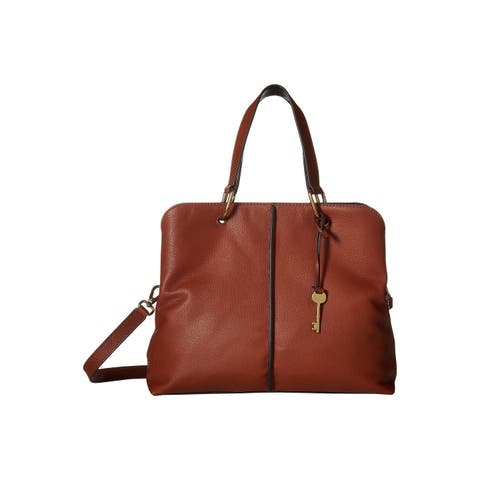 Fossil Lane Satchel Brown