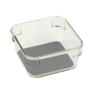 Home Basics Clear 3-inch Plastic Drawer Organizer