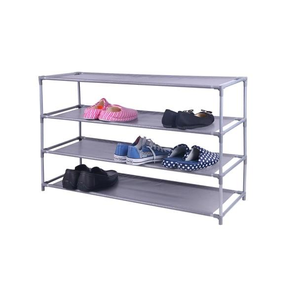 Home Basics 20-pair Non-Woven Shoe Shelf